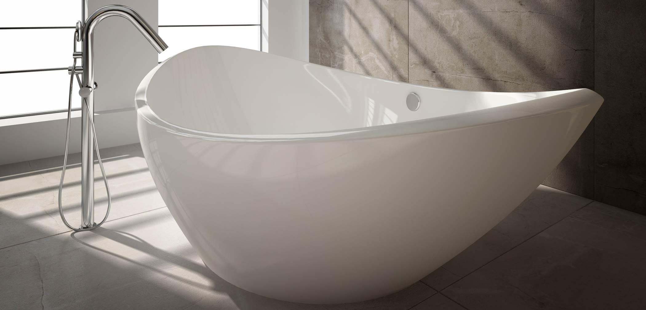 modern bath in modern style bathroom